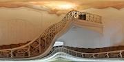 Santiniho samonosné schodiště